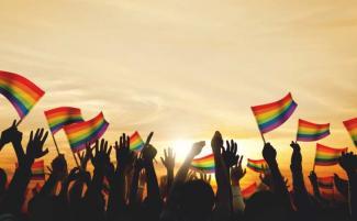 Sex s Gay sprievod